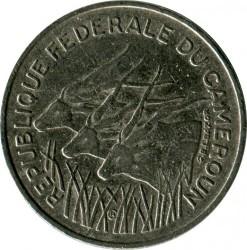 Moneta > 100franków, 1971-1972 - Kamerun  - obverse