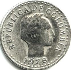 Moneta > 10centavos, 1972-1980 - Colombia  - obverse