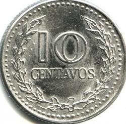 Monēta > 10sentavo, 1972-1980 - Kolumbija  - reverse