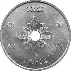 Moneta > 50santimų, 1952 - Laosas  - reverse