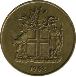 Монета > 2крони, 1958-1966 - Ісландія  - obverse