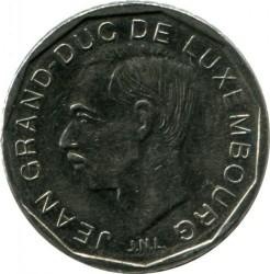 Moneta > 50frankų, 1989-1995 - Liuksemburgas  - obverse