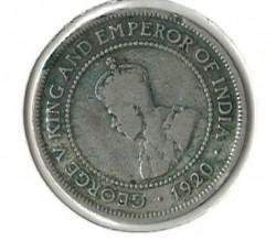 Moneda > ½penique, 1914-1928 - Jamaica  - obverse