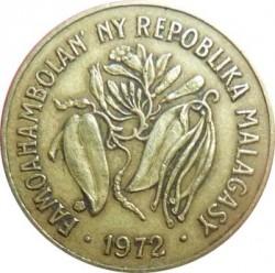 Moneta > 10frankų, 1972 - Madagaskaras  - obverse