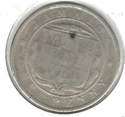 Moneda > 1 penique, 1869-1900 - Jamaica  - obverse