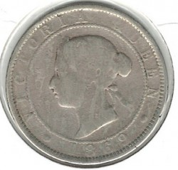 Moneda > 1 penique, 1869-1900 - Jamaica  - reverse