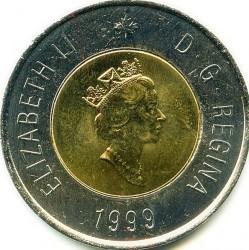 Moneda > 2dólares, 1999 - Canadá  (Fundación de Nunavut) - obverse