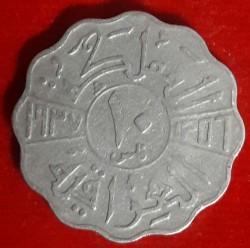 Munt > 10fils, 1937-1938 - Irak  - reverse