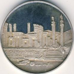 Moneta > 100rialów, 1971 - Iran  (2500 lat Persji) - obverse