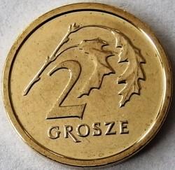 Coin > 2grosze, 2017-2018 - Poland  - obverse