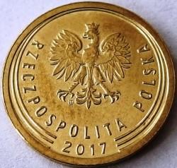 Coin > 2grosze, 2017-2018 - Poland  - reverse