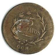 Кованица > 5центи, 1917-1919 - Костарика  - reverse