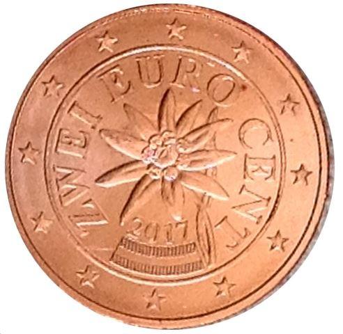 2 Cent 2017 österreich Münzen Wert Ucoinnet