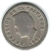 Монета > 1сентаво, 1940 - Сальвадор  - obverse