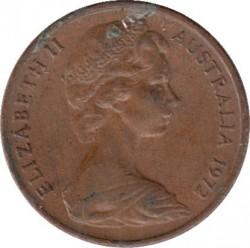Mynt > 1cent, 1972 - Australia  - obverse