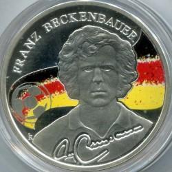 Moneda > 100dram, 2009 - Armenia  (Los Reyes del Fútbol - Franz Beckenbauer) - obverse