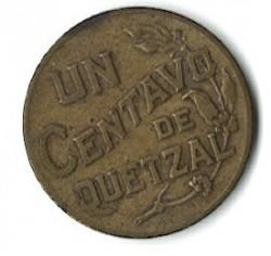 سکه > 1سنتاوو, 1943-1944 - گواتمالا  - reverse