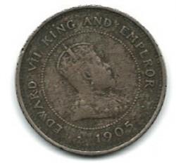 Moneta > 1fartingas, 1904-1910 - Jamaika  - obverse