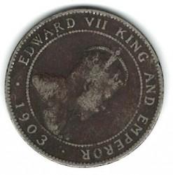 Moneta > 1pensas, 1902-1903 - Jamaika  - obverse