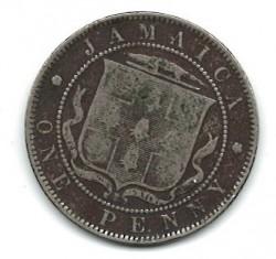 Moneta > 1pensas, 1902-1903 - Jamaika  - reverse