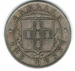 Moneda > 1penique, 1904-1910 - Jamaica  - reverse