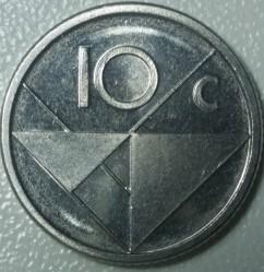 Moneta > 10centų, 2016 - Aruba  - reverse