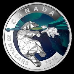 Монета > 20долара, 2016 - Канада  (Бяла мечка) - reverse