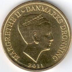 Νόμισμα > 10Κρόνερ(Κορώνες), 2011-2012 - Δανία  - obverse