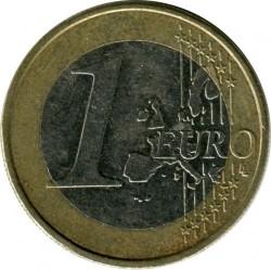 Coin > 1euro, 2002-2007 - Austria  - obverse