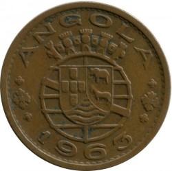 Moneta > 1scudo, 1953-1974 - Angola  - obverse