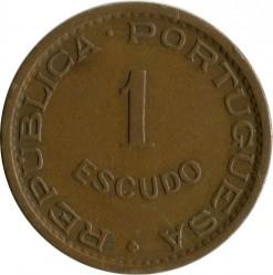 Moneta > 1scudo, 1953-1974 - Angola  - reverse