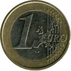 Moneda > 1euro, 1999-2006 - Países Bajos  - obverse