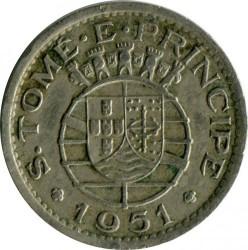 Монета > 50сентавос, 1951 - Сао Томе и Принсипи  - obverse