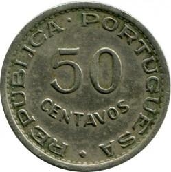 Монета > 50сентавос, 1951 - Сао Томе и Принсипи  - reverse