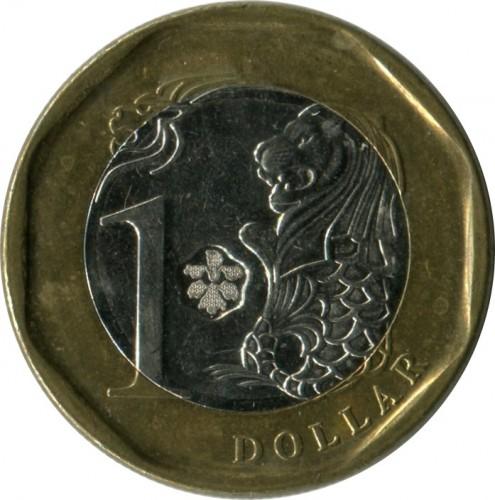 1 Dollar 2013 2017 Singapur Münzen Wert Ucoinnet