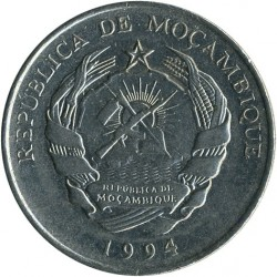 Moneta > 500meticali, 1994 - Mozambik  - reverse
