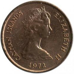 Coin > 1cent, 1972-1986 - Cayman Islands  - obverse
