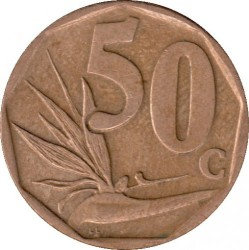 Coin > 50cents, 2005 - South Africa  - reverse