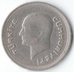 Moneta > 50kurušų, 1935-1937 - Turkija  - obverse