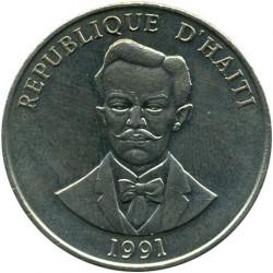 Монета > 50сантимів, 1986-1991 - Гаїті  - obverse