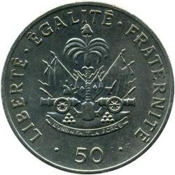 Монета > 50сантимів, 1986-1991 - Гаїті  - reverse