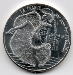 Moneta > 10 eurų, 2017 - Prancūzija  (Paris /Mill/) - obverse