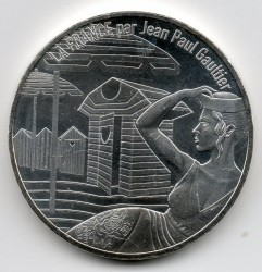 Coin > 10euro, 2017 - France  (France by Jean Paul Gaultier - Normandy) - obverse