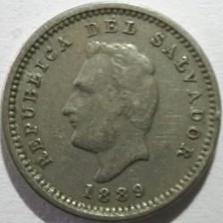 Moeda > 1centavo, 1889-1913 - El Salvador  - obverse