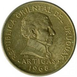Moeda > 1peso, 1968 - Uruguai  - obverse