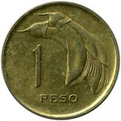 Moeda > 1peso, 1968 - Uruguai  - reverse