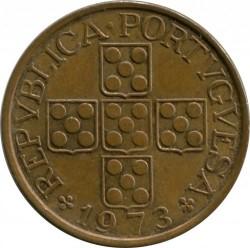 Münze > 1Escudo, 1969-1979 - Portugal  - obverse