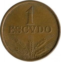 Münze > 1Escudo, 1969-1979 - Portugal  - reverse