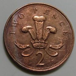Munt > 2pence, 1998-1999 - Verenigd Koninkrijk  - reverse