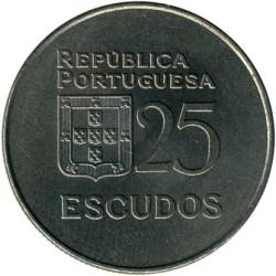 Монета > 25ескудо, 1977-1978 - Португалія  - obverse